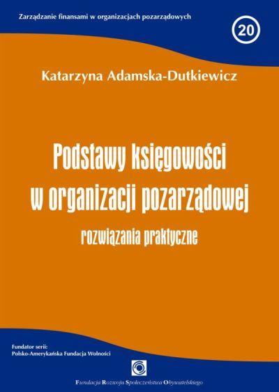 Podstawy księgowości w organizacji pozarządowej