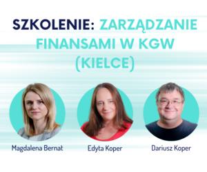 szkolenie w Kielcach zarządzanie finansami w KGW